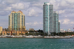 EUA, FloridaMiami - costa atlântica Fotografia de Stock