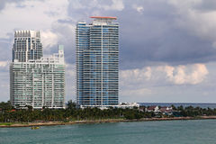 EUA, FloridaMiami - costa atlântica Fotografia de Stock Royalty Free