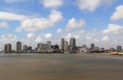 EUA, Louisiana, Nova Orleães - rio Mississípi Fotos de Stock Royalty Free