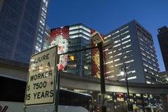 EUA - Michigan - Detroit fotografia de stock royalty free