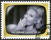 EUA - 2009: mostra a mostra de Dinah Shore, memória adiantada da tevê fotografia de stock royalty free