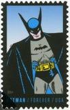 EUA - 2014: mostras Batman, série o 75th aniversário de uma banda desenhada da C.C. Imagens de Stock Royalty Free