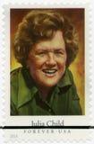 EUA - 2014: mostras Julia Carolyn Child McWilliams 1912-2004, cozinheiro chefe americano, autor, e personalidade de televisão Fotografia de Stock