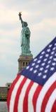 EUA, New York, estátua de liberdade imagens de stock