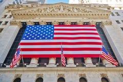 29 03 2007, EUA, New York: Trocas da fachada de New York, um enorme fotografia de stock