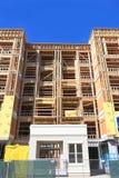 EUA, o Arizona/Tempe: Condomínio novo - Shell de construção Fotografia de Stock Royalty Free