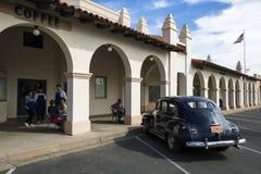 EUA - O Arizona - vila de Ajo a plaza central Imagens de Stock