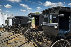 EUA - Ohio - Amish fotos de stock