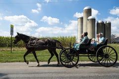 EUA - Ohio - Amish imagens de stock royalty free