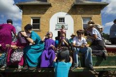 EUA - Ohio - Amish imagem de stock