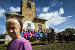 EUA - Ohio - Amish imagem de stock royalty free