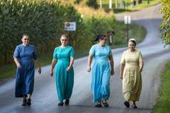 EUA - Ohio - Amish fotos de stock royalty free