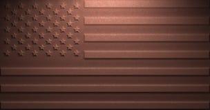 EUA oxidados Imagens de Stock Royalty Free