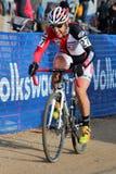 2014 EUA que dão um ciclo nacionais da Ciclo-cruz Foto de Stock Royalty Free