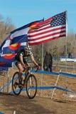 2014 EUA que dão um ciclo nacionais da Ciclo-cruz Imagem de Stock Royalty Free