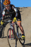 2014 EUA que dão um ciclo nacionais da Ciclo-cruz Fotografia de Stock Royalty Free