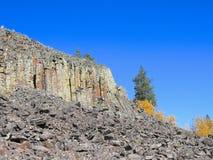 EUA, Wyoming/Yellowstone: Penhasco de Sheepeater Fotografia de Stock