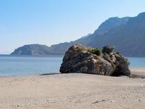 euboea希腊海岛 图库摄影