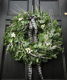 Eucalyptus wreath stock photos