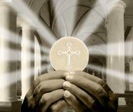 Eucaristía Fotos de archivo