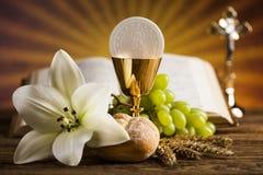 Eucharist, μυστήριο του υποβάθρου κοινωνίας στοκ φωτογραφία με δικαίωμα ελεύθερης χρήσης
