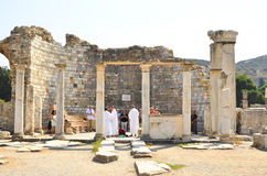 Eucharist in Church of Mary Ephesus Royalty Free Stock Images