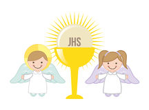 Eucharist design Stock Photos