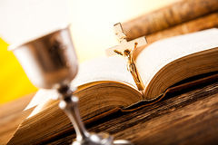 Eucharist, sacrament of communion Royalty Free Stock Photos