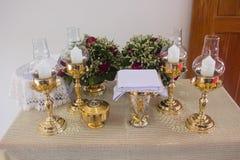 Eucharist, sacrament of holy communion in Thailand stock image