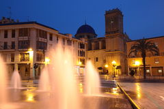 Eucharistic Congreo Square in Elche, Spain Royalty Free Stock Photos