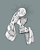 eucharistie Photographie stock libre de droits