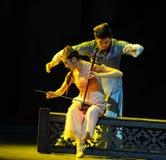 Eufemisme wat betreft de lied-tweede handeling van de gebeurtenissen van dans drama-Shawan van het verleden Royalty-vrije Stock Foto