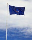 euflagga Fotografering för Bildbyråer