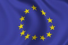 euflagga Arkivbilder