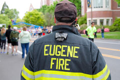 Eugene Fire Marshall Eugene, OU Photos libres de droits