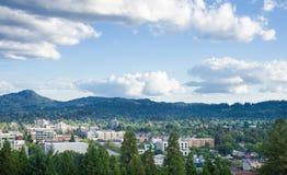 Eugene lata linia horyzontu Zdjęcia Royalty Free