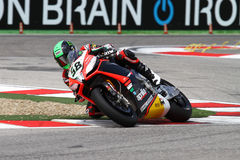Eugene Laverty Aprilia RSV4 Aprilia Racing Team royalty free stock image