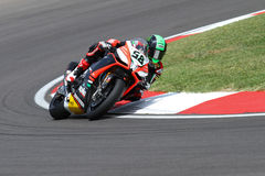 Eugene Laverty Aprilia RSV4 Aprilia Racing Team Stock Photo