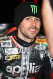 Eugene Laverty #58 on Aprilia RSV4 1000 Factory with Aprilia Racing Team Superbike WSBK Stock Photos