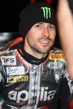 Eugene Laverty #58 on Aprilia RSV4 1000 Factory with Aprilia Racing Team Superbike WSBK stock photos