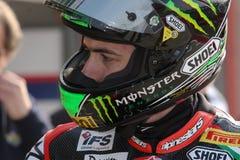 Eugene Laverty Aprilia RSV4 Aprilia Racing Team Stock Images