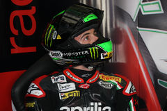 Eugene Laverty Aprilia RSV4 Aprilia Racing Team Stock Photography