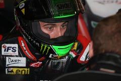 Eugene Laverty Aprilia RSV4 Aprilia Racing Team Stock Photography