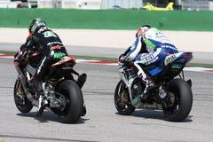 Eugene Laverty Aprilia RSV4 Aprilia Racing Team Royalty Free Stock Images