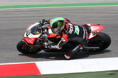 Eugene Laverty Aprilia RSV4 Aprilia Racing Team Stock Image
