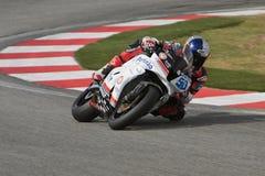 Eugene Laverty Honda CBR600RR SBK stock image