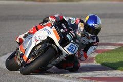 Eugene Laverty Sieger Supersport Rennen Kyalami stockfotos