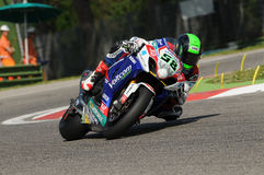 Eugene Laverty SUZUKI Imola SBK 2014 Royalty Free Stock Photo
