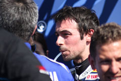 Eugene Laverty - Yamaha YZF R1 - Yamaha World SBK Royalty Free Stock Photo