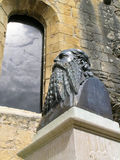 Eugene Le Roy statue Royalty Free Stock Photography